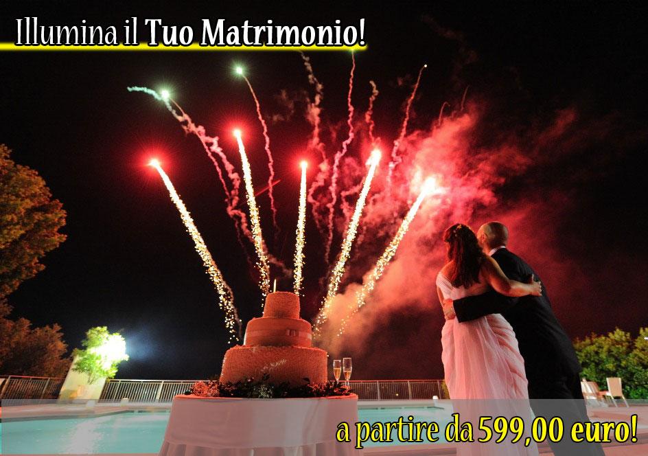 Spettacolo pirotecnico per matrimonio - wedding fireworks - fuochi pirotecnici
